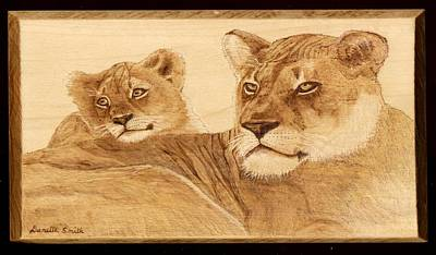 Pyrography Pyrography - Born Free by Danette Smith