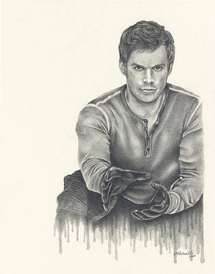Dexter Drawing - Born From Blood by Heather Andrewski