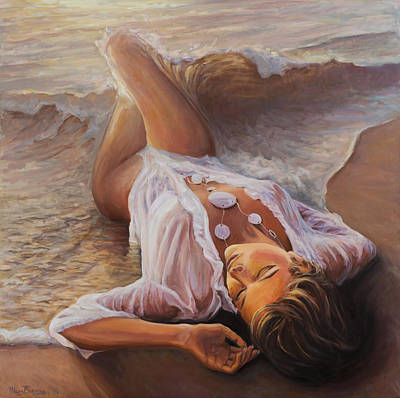Born From The Waves Art Print by Marco Busoni