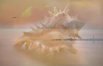 Liberation Digital Art - Born Of The Sea by Inna Nedzelskaia