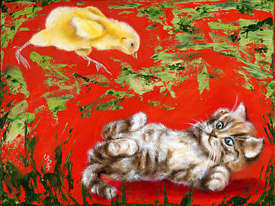Painting - Born To Be Wild by Hiroko Sakai
