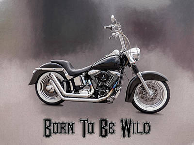 Photograph - Born To Be Wild  Written by Leslie Montgomery