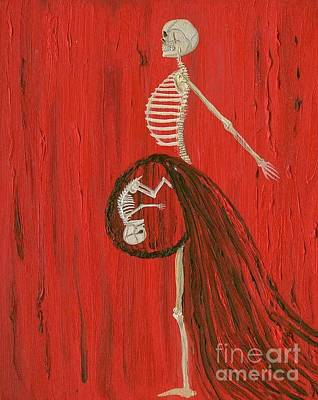 Painting - Born To Live E-birth by Talisa Hartley