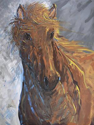 Painting - Born To Run by Terri Einer