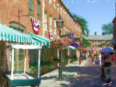Painting - Born To Shop by Eddie Durrett