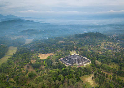 Photograph - Borobudur Temple by Evgeny Vasenev