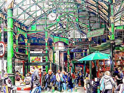 Photograph - Borough Market London by Dorothy Berry-Lound