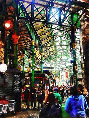 Photograph - Borough Market Perambulation by Dorothy Berry-Lound