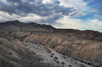 Photograph - Borrego Badlands  by Kyle Hanson
