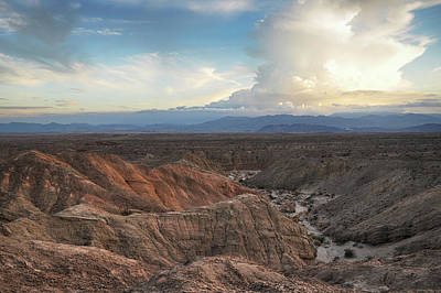 Photograph - Borrego Badlands Sunset by Kyle Hanson