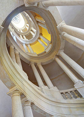 Photograph - Borromini Staircase Spiral by Weston Westmoreland