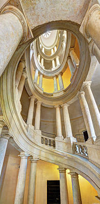 Photograph - Borromini Staircase by Weston Westmoreland