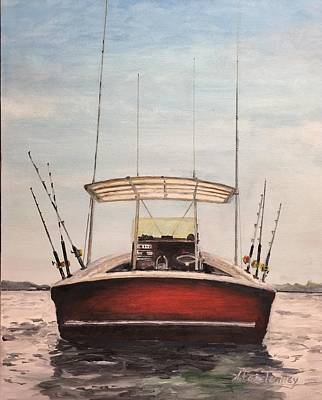 Painting - Helen's Boat by Stan Tenney