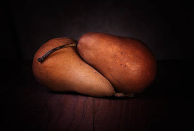 Eaten Photograph - Bosc Pears by Tom Mc Nemar