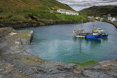 Photograph - Boscastle Harbour by Christopher Rees