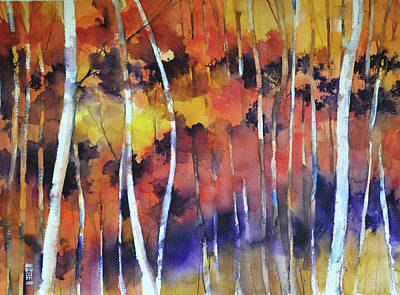 Painting - Bosco In Autunno by Alessandro Andreuccetti