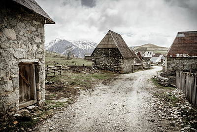 Photograph - Bosnian Village In The Mountains by Alexey Stiop