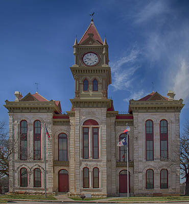 Photograph - Bosque County Courthouse by Debby Richards