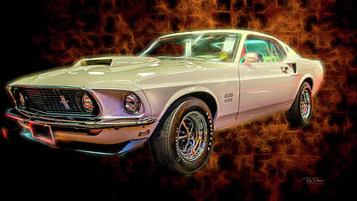 Photograph - Boss 429 by Bill Posner