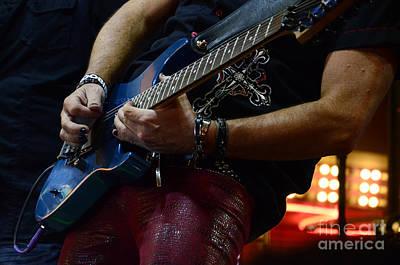 Boss Guitar Player Art Print by Bob Christopher