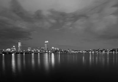 Photograph - Boston Charles River Skyline by Juergen Roth
