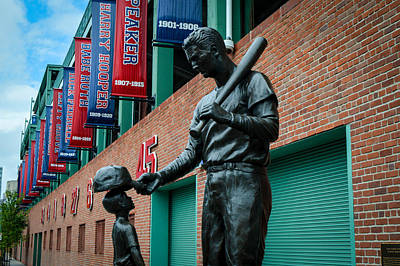 Redsox Photograph - Boston 6 by Aaron Dishner