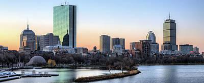 Photograph - Boston 84x34 by JC Findley