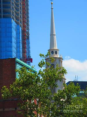 Photograph - Boston America Usa Beautiful Architecture Towers Buildings Churches Navinjoshi Fineartamerica by Navin Joshi