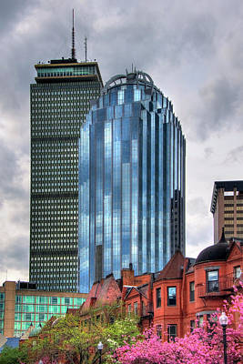 Photograph - Boston Architecture And South End Brownstones by Joann Vitali
