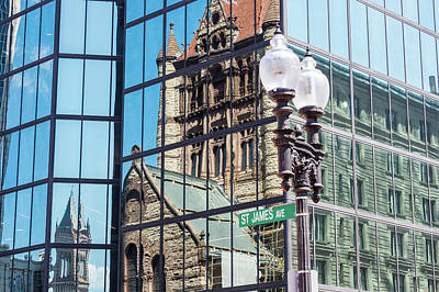 Photograph - Boston At Different Angle by Val Black Russian Tourchin