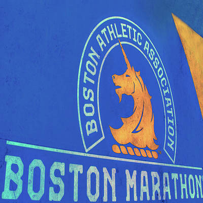 Photograph - Boston Athletic Association - Boston Marathon by Joann Vitali