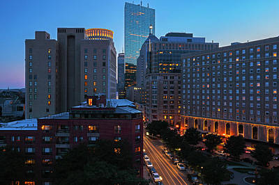 Photograph - Boston Back Bay Park Plaza Hotel  by Juergen Roth