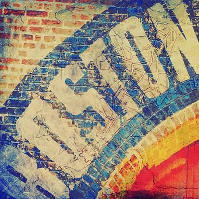 Boston Bricks Art Print by Brandi Fitzgerald