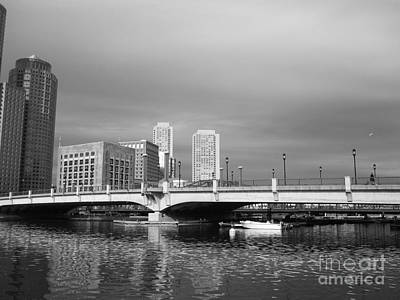Photograph - Boston Bridge by Barbara Bardzik