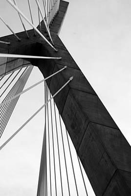 Boston Bridge  Art Print by Maria Lopez