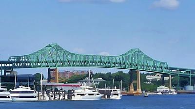 Photograph - Boston Bridge by Roberta Byram