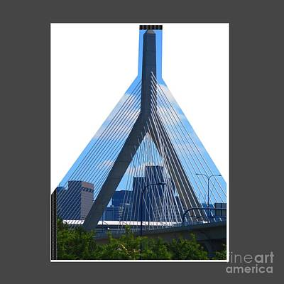Photograph - Boston Bridges So Beautiful A Photograph Can Give You All The Time To Enjoy The Moment by Navin Joshi