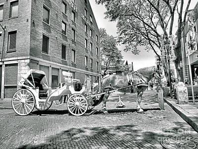 Travel Rights Managed Images - Boston Buggy Royalty-Free Image by Elizabeth Dow