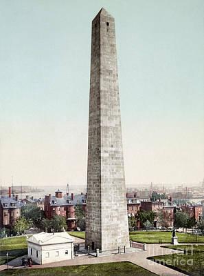 Photograph - Boston, Bunker Hill, C1900 by Granger