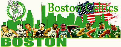 Boston Celtics Original by Don Kuing