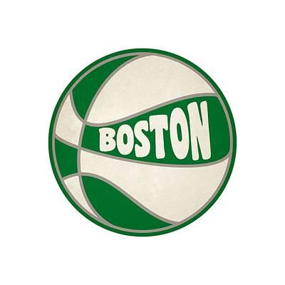Boston Celtics Retro Shirt Art Print