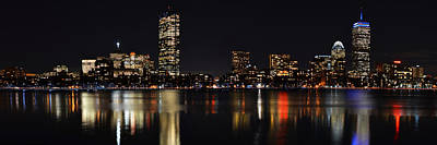 Boston Charles River Panorama 8x24 Ratio Art Print by Toby McGuire