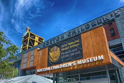 Photograph - Boston Childrens Museum by Carlos Diaz