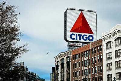 Boston Citgo Sign Art Print by Ryan McKee