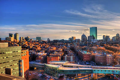Photograph - Boston Cityscape by Joann Vitali