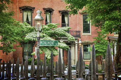 Photograph - Boston Colonial Scenes - Charlestown by Joann Vitali