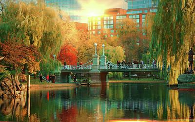 Photograph - Boston Common by Louis Rivera