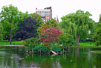 Photograph - Boston Common Study 9 by Robert Meyers-Lussier