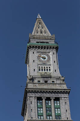 Photograph - Boston Custom House by Brian MacLean