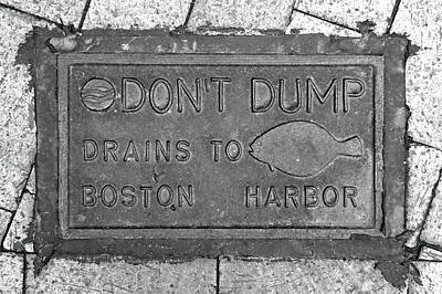 Photograph - Boston Drain by Brooke T Ryan